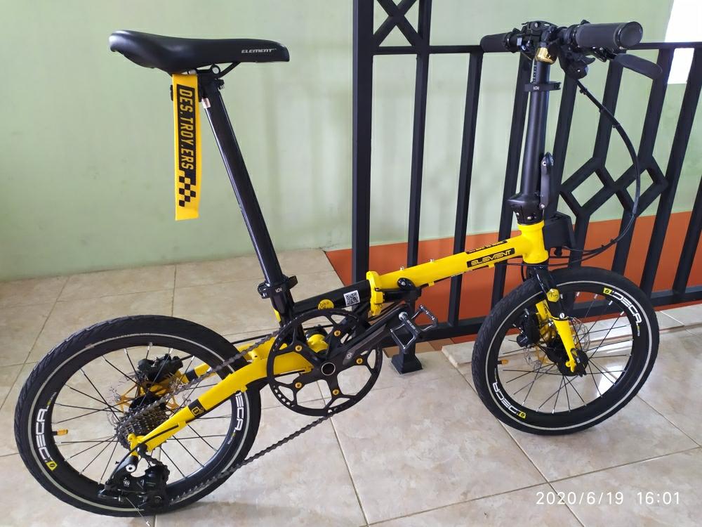 Decal Sticker Velg Rim Wheelset Sepeda Lipat Ring 16 Inch Motif Deca Lazada Indonesia