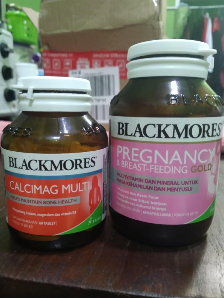 Blackmores Pregnancy And Breastfeeding Gold Bpom Kalbe 60 Kapsul Lazada Indonesia