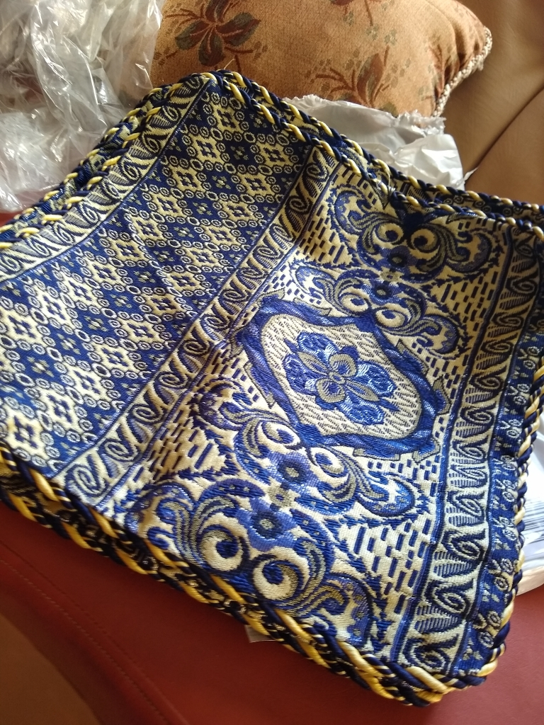Cushion Cover 5 Pieces Set Durable High Quality Color Blue Buy Online At Best Prices In Pakistan Daraz Pk