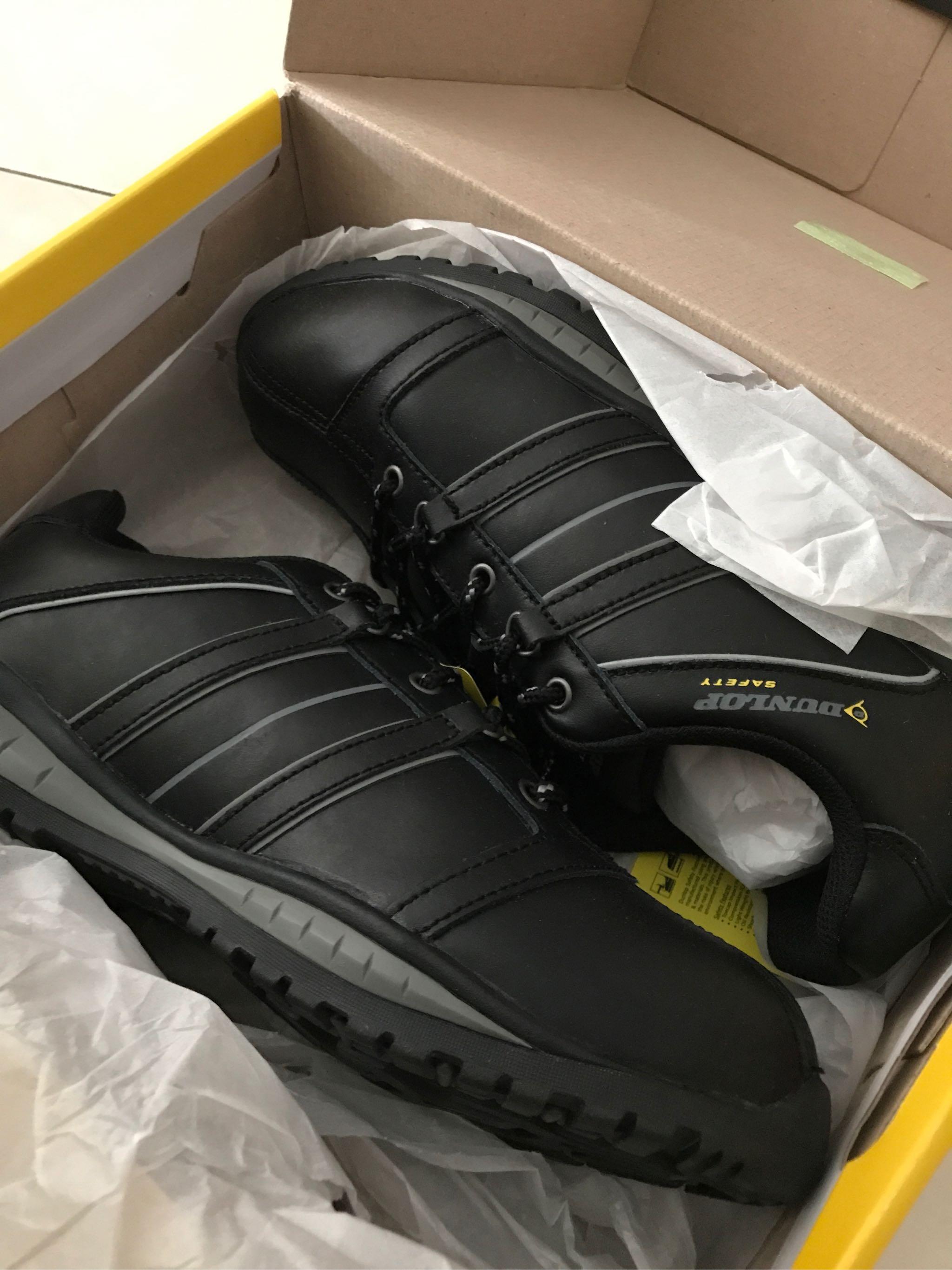 Dunlop Mens Idaho Safety Shoes (Black