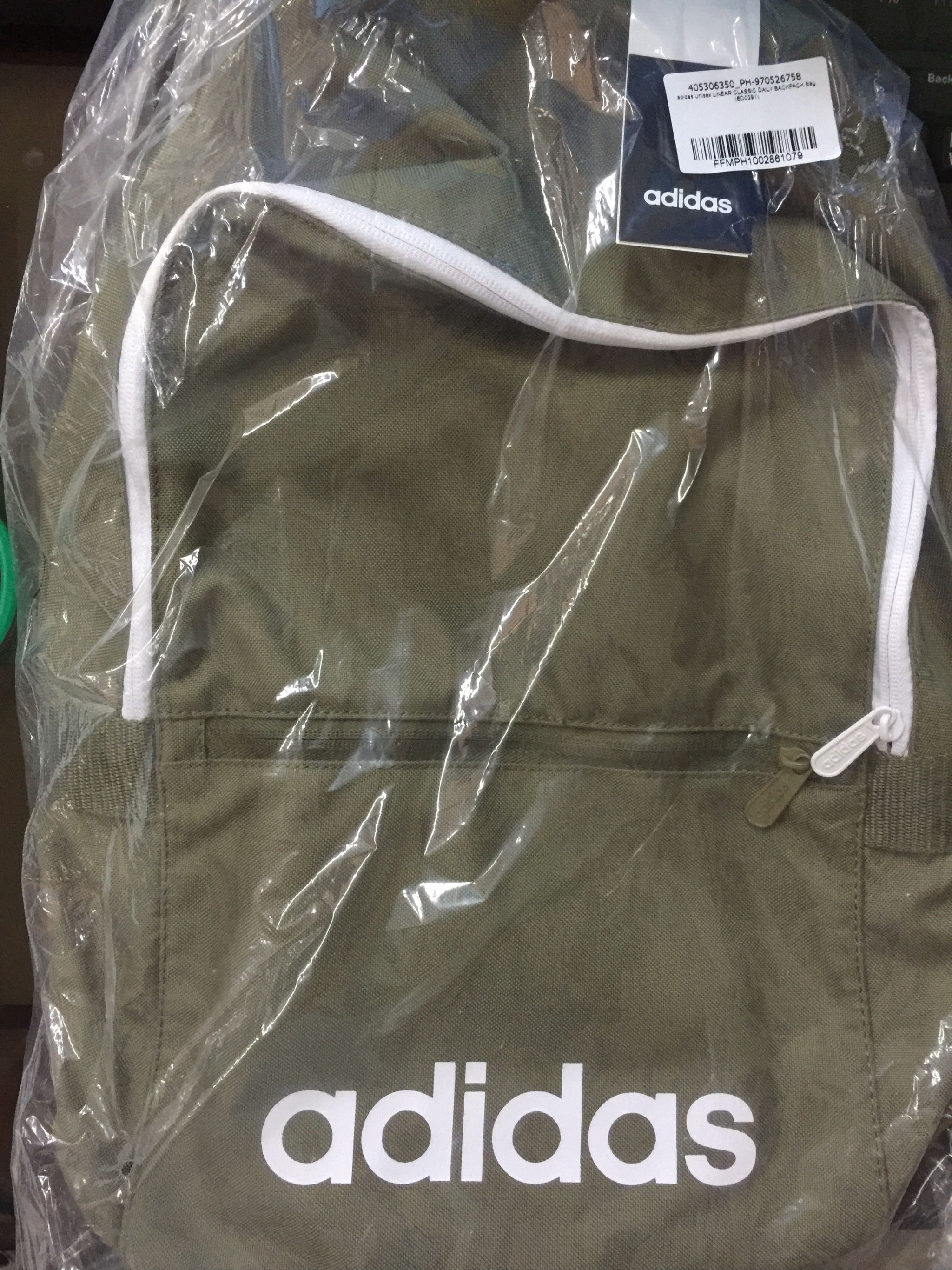 adidas Unisex LINEAR CLASSIC DAILY BACKPACK Bag (ED0291)
