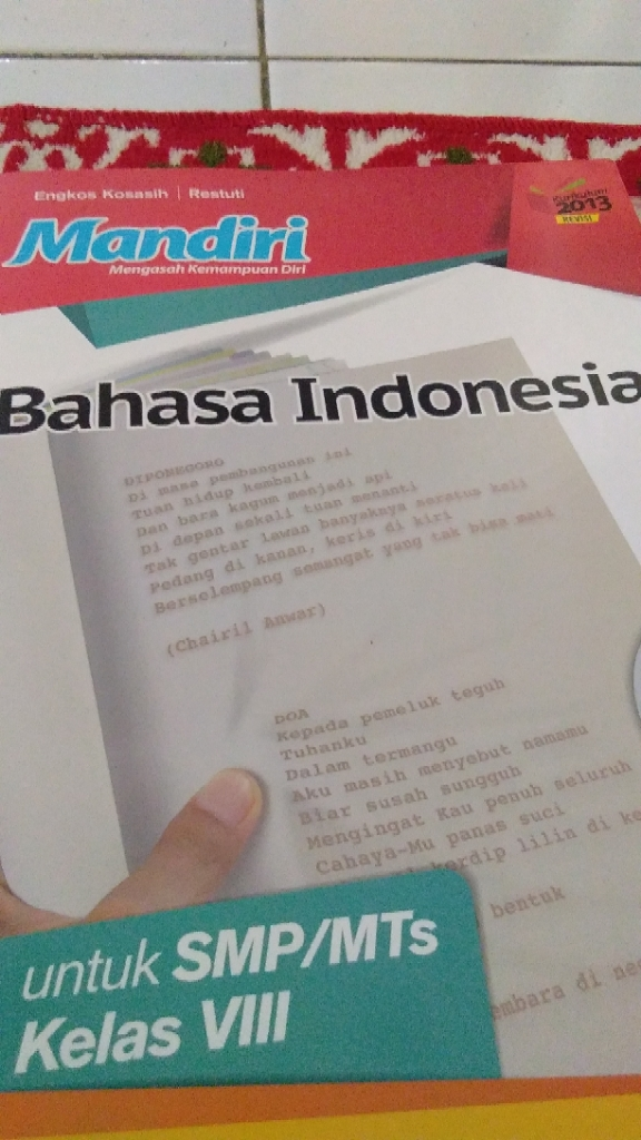Jawaban Buku Paket Bahasa Indonesia Halaman 153 Kelas 11 Kurikulum 2013