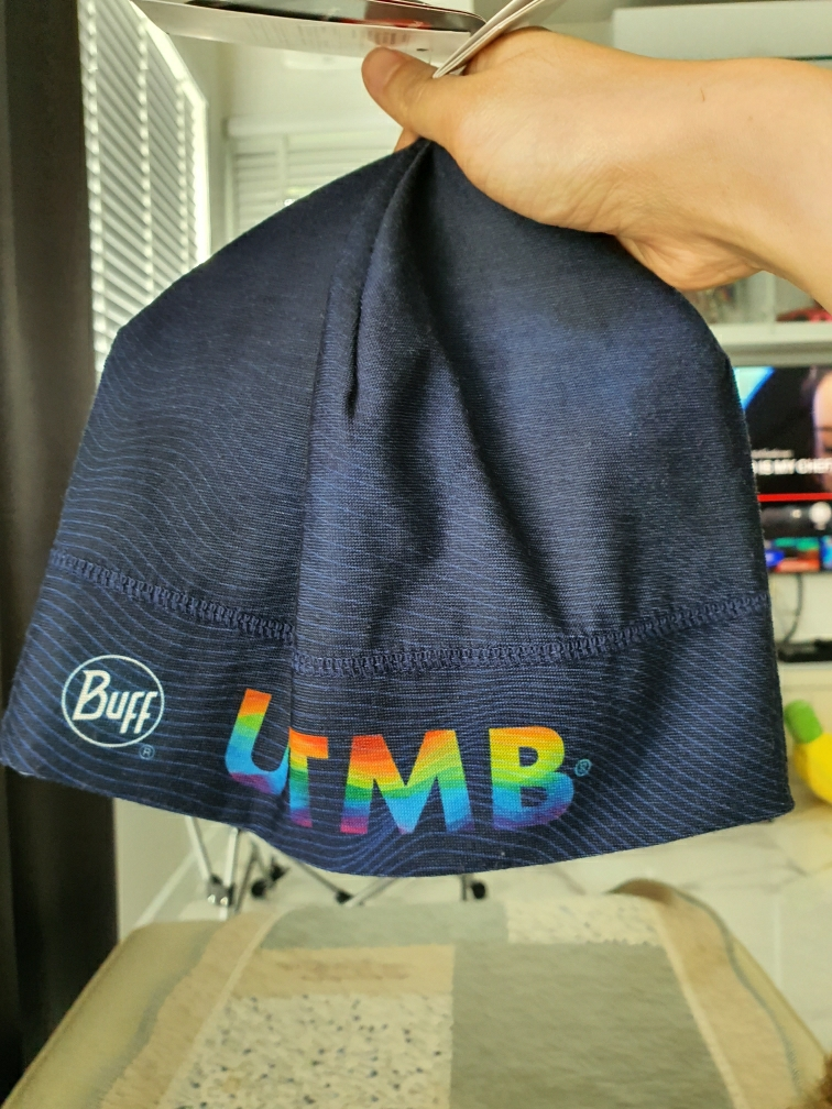 Adult Buff Mens Mountain Top Cape Blue Thermonet Hat