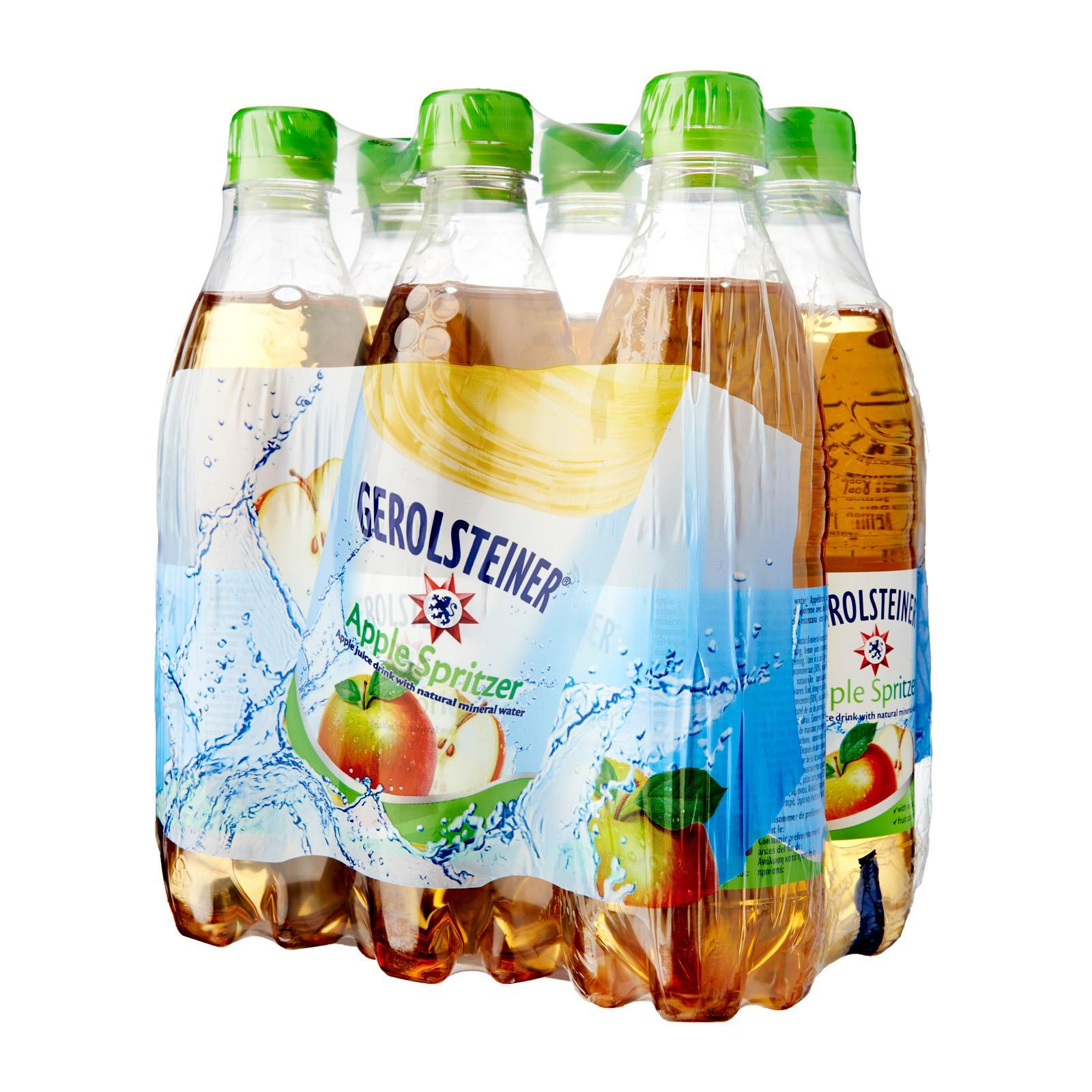 Gerolsteiner Apple Spritzer Flavoured Water By Redmart.