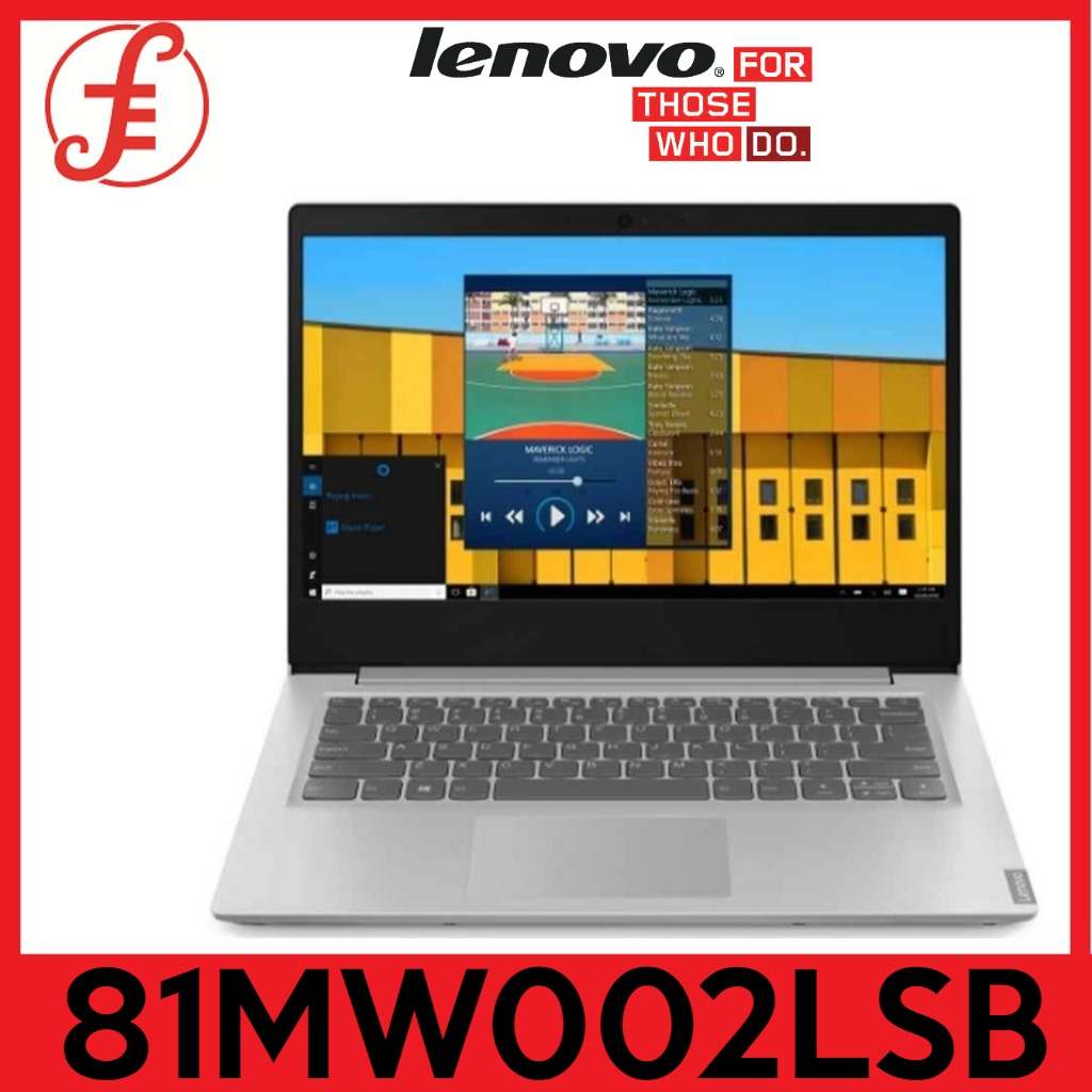 LENOVO S145-14IGM 81MW002LSB 14IN FHD PENTINUM N5000 8GB 512GB PCIE SSD WIN 10 HOME(S145-141GM 81MW002LSB)