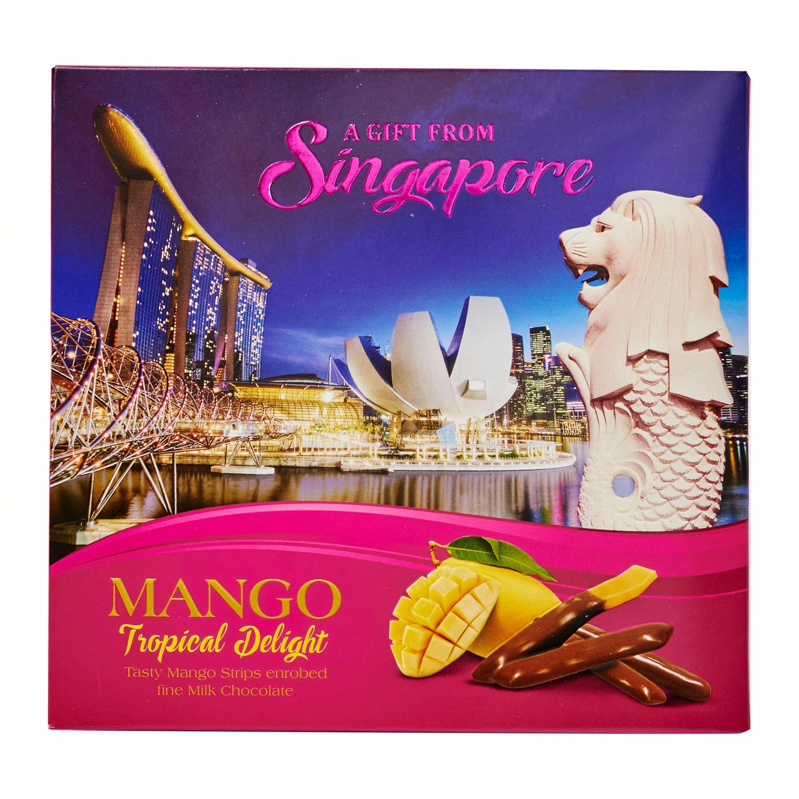 Manly Tropical Delight - Mango Strips In Chocolate