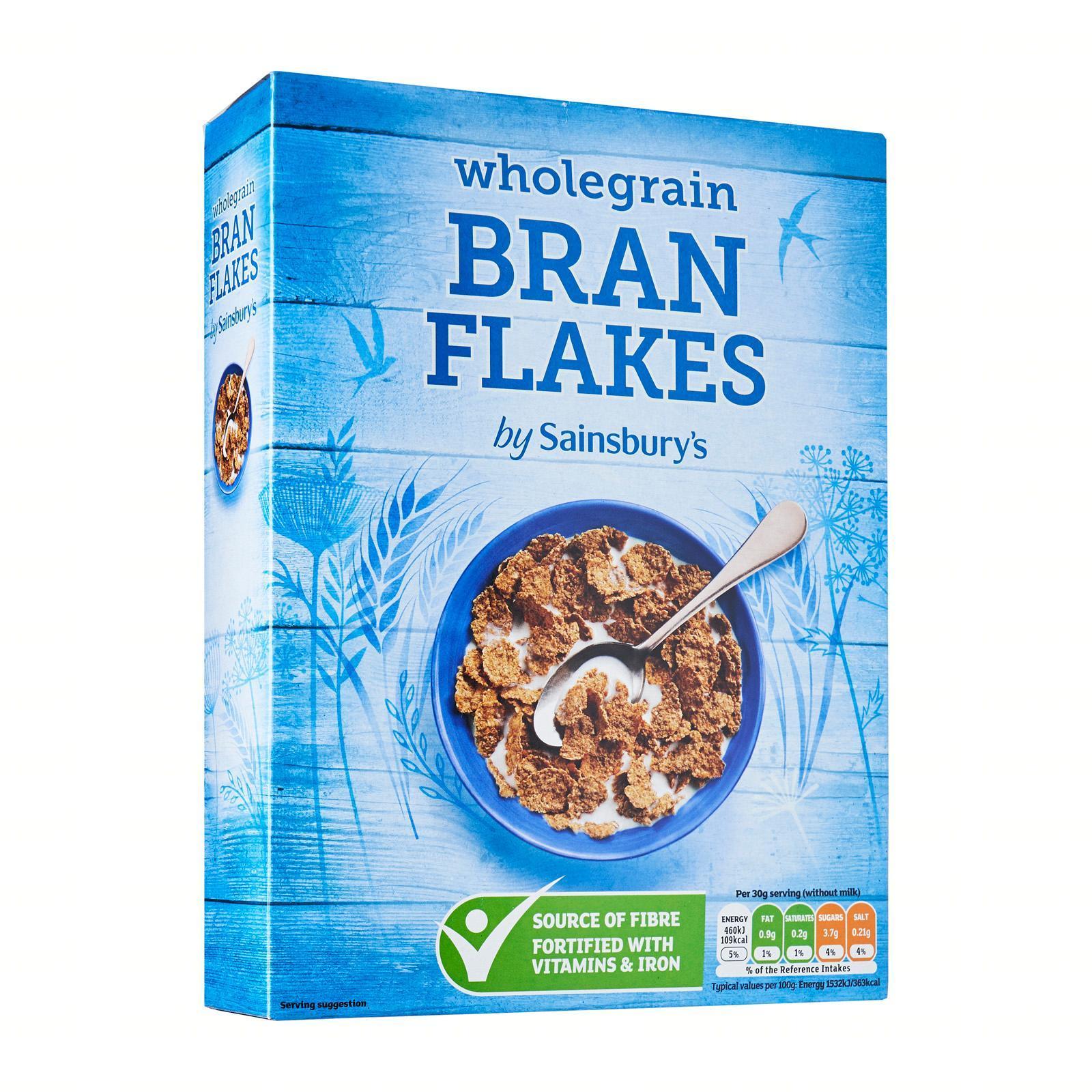 Sainsbury's Wholegrain Bran Flakes