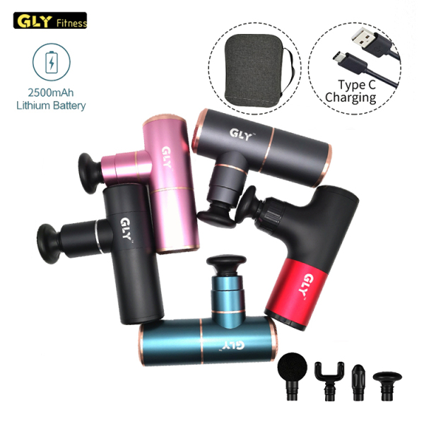 Buy Local Seller Mini Massage Gun Quiet Brushless Motor Type C Charge Muscle Pain Relief Singapore