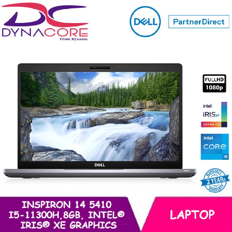 DYNACORE - DELL Inspiron 14 Laptop 5410 14 FHD | i5-11300H | 8GB RAM | 512GB SSD | Intel® Iris® Xe Graphics | 2 YEARS WARRANTY