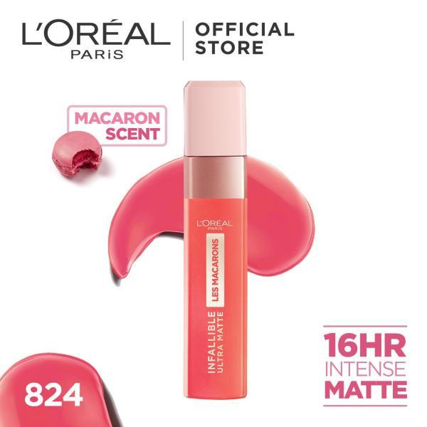 Buy LOreal Paris Infallible Ultra Matte Les Macarons Liquid Lipstick Singapore