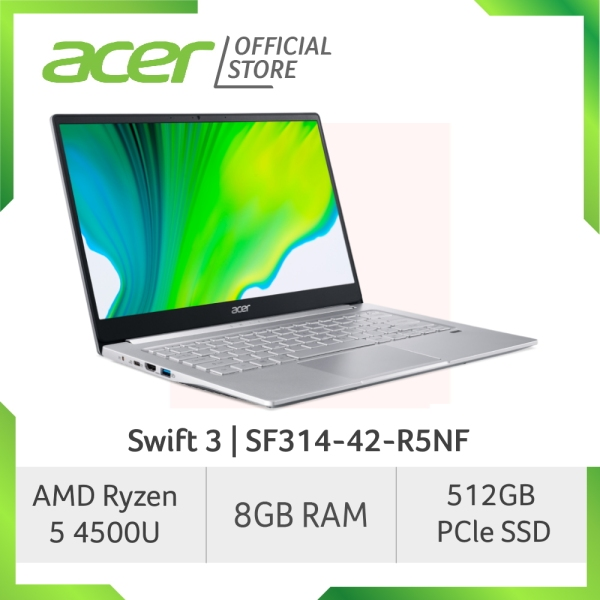 [New Arrival] Acer Swift 3 SF314-42-R5NF Thin and Light Laptop with AMD Ryzen 5 4500U Processor