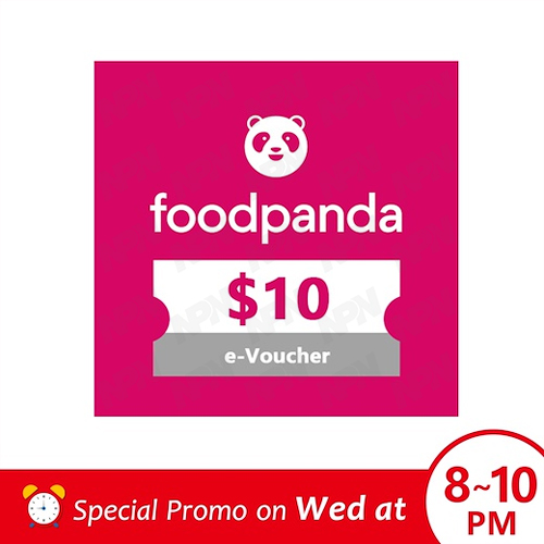 Special Promo Price [foodpanda] $10 Voucher/sgd10 Off/promo Code/e-Voucher/gift Card/gift Voucher ~food Delivery ~food Discount~ Food Promotion $10 Off Your Meals~.
