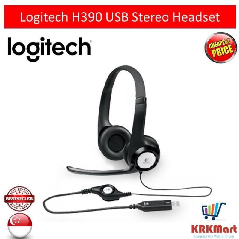 Logitech H390 USB Stereo Headset Singapore