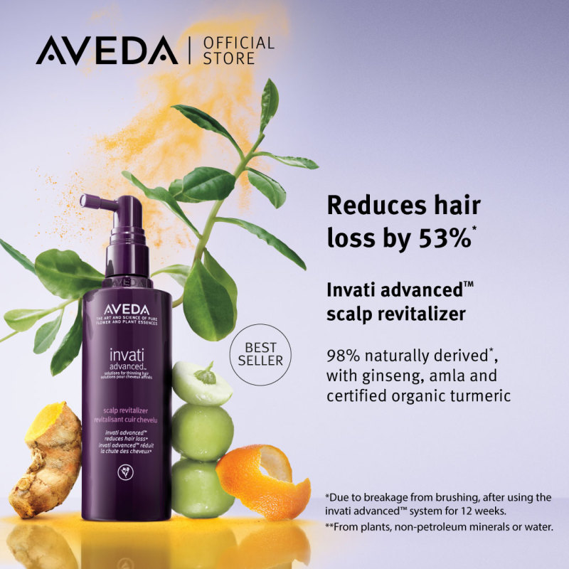Buy [Exclusive Offer] AVEDA Invati Advanced Scalp Revitalizer 150ml + Invati Advanced Scalp Revitalizer 5x10ml Singapore