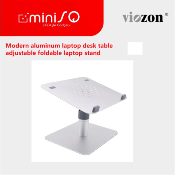 modern aluminum laptop desk table adjustable foldable laptop stand