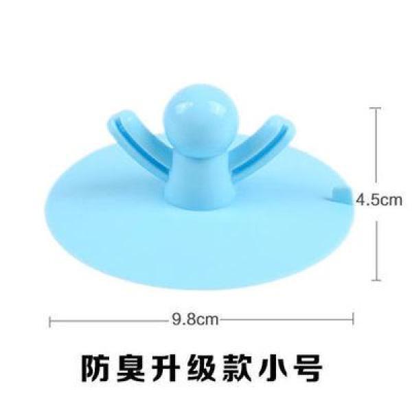 Floor Drain Cover Deodorizing Wall Floor Drain Plug Pool Anti-Taste Plug Bathroom Deodorizing Pool Sewer Silica Gel Floor Drain Cover
