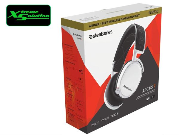 Steelseries Arctis 7 Wireless 2019 Edition Gaming Headset (Black / White)