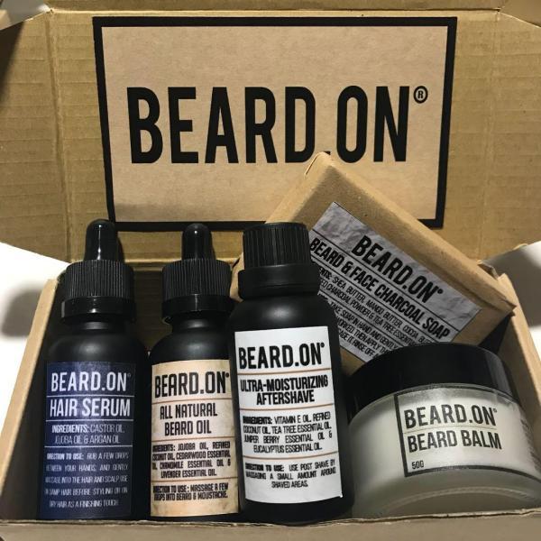 Buy Beard.On® Hair and Beard Premium Package Singapore