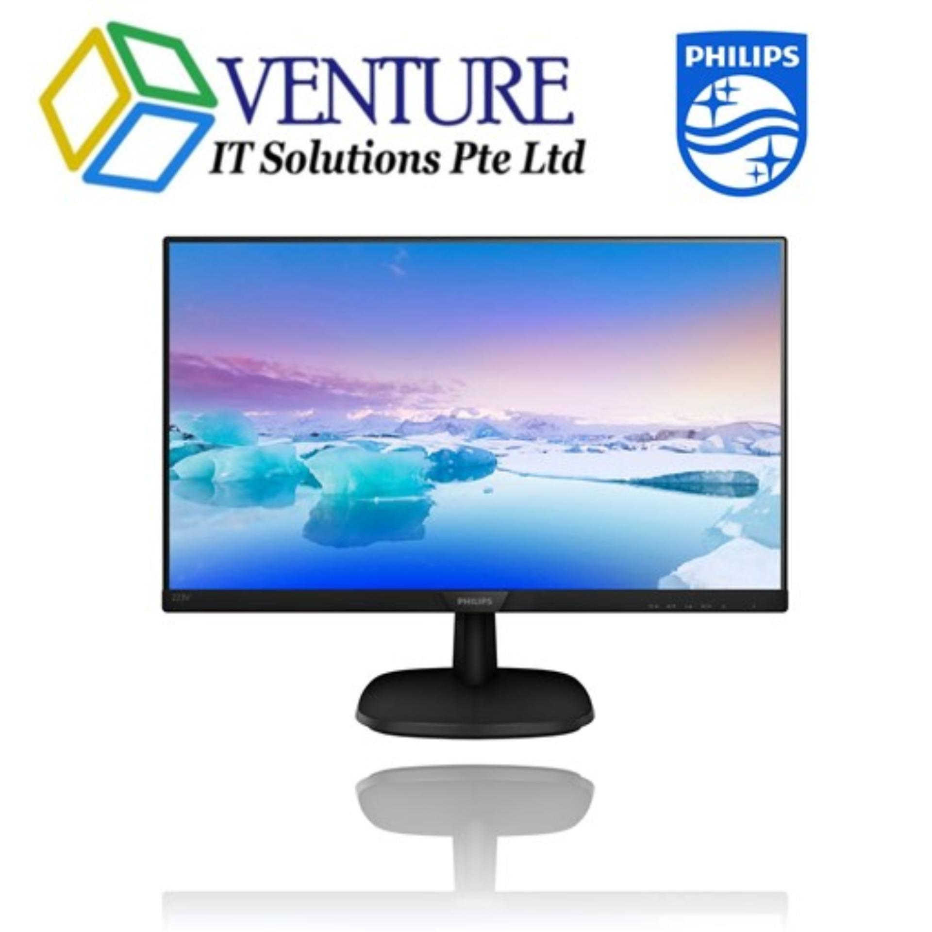 PHILIPS 223V7QHSB/69 Full HD LCD monitor V Line, 22 (21.5 / 54.6 cm diag.), Full HD (1920 x 1080)
