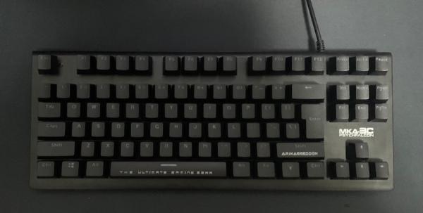 Armaggeddon MKA 3c psychfalcon mechanical gaming keyboard Singapore
