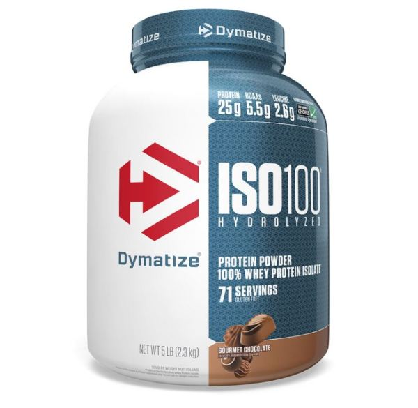 Buy Dymatize Nutrition, ISO 100 Hydrolyzed 100% Whey Protein Isolate, 5 lb (2.3 kg) - Ultimate Sup Singapore