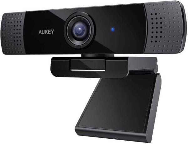 Aukey PC-LM1E Stream Series 1080P  Dual-Mic Webcam For Meetings, Gaming, Live Streaming On Mac Windows /Gadgets & IT