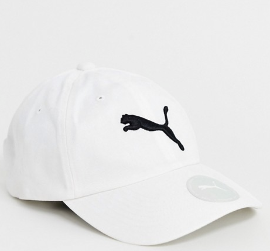 [authentic] Puma Essential Classic Baseball Cap [black/white].