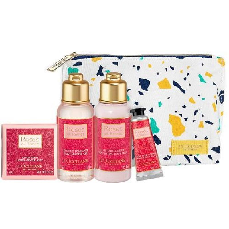 Buy LOCCITANE ROSE BUSHES IN BLOOM (BODY CARE GIFT SET ) SHOWER GEL/BODY LOTION /SOAP/HAND CREAM Singapore