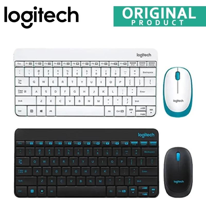 Logitech MK245 Wireless Nano Keyboard and Mouse Combo - Black, White Singapore