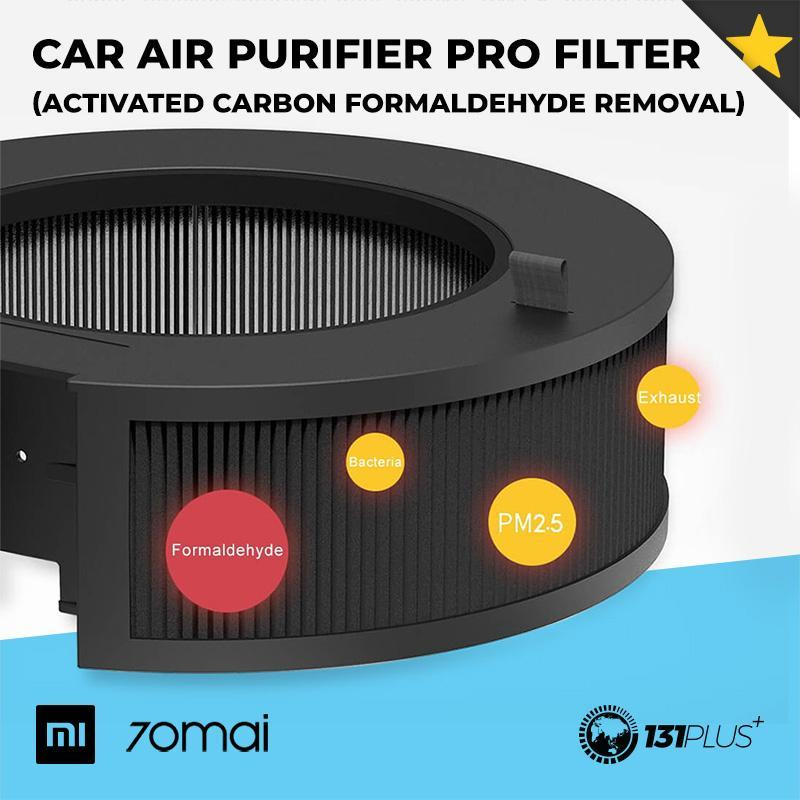 Xiaomi 70Mai Car Air Purifier PRO Filter (Activated Carbon Formaldehyde Removal) Singapore