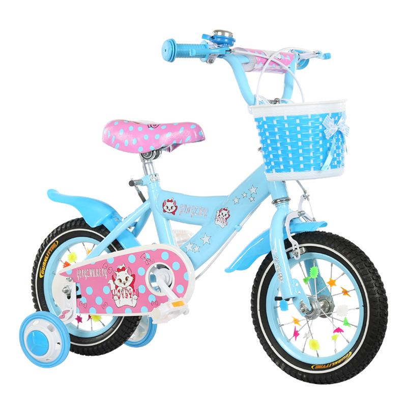 New Style Children Bicycle Girls 3-4-5-6-9-Year-Old Kids Stroller 12/14/16/18-Inch Female Baby Bicycle By Taobao Collection.