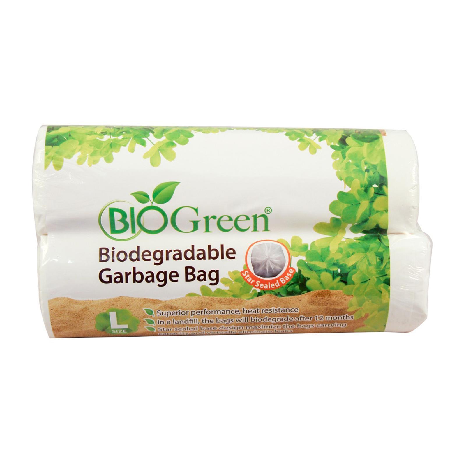BioGreen Biodegradable Garbage Bag (L) - (L100 x W780)MM (BD-GB3039/2-10)