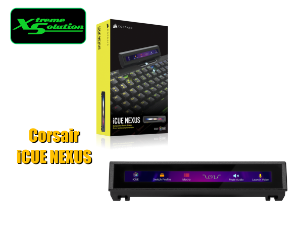 Corsair iCUE NEXUS Companion Touch Screen Singapore