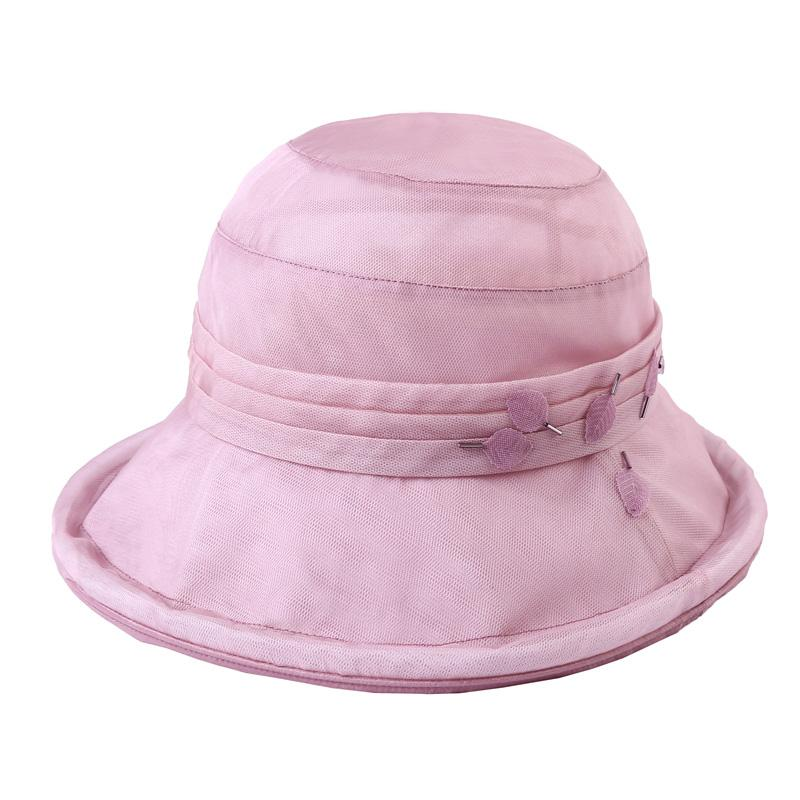 8177fb4dc Product Ptah Topee Children Spring And Summer Real Silk UV Sun Protection  Hat Crimping Mulberry Silk Sun Hat Summer Hat