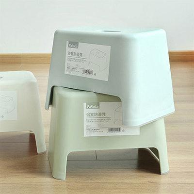 MISSHER Japanese-style plastic stool stool changing his shoes simplicity small children small square stool ST04