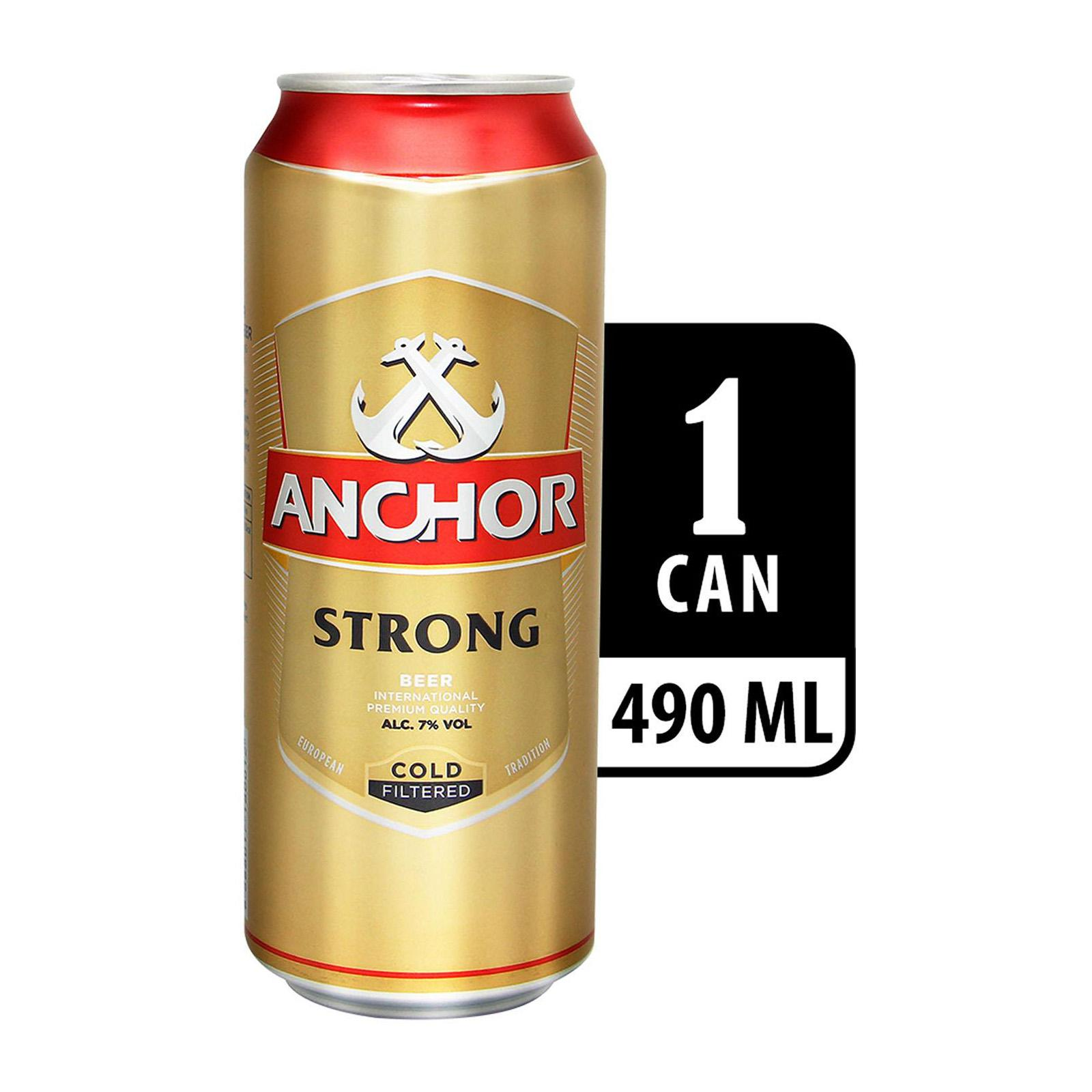 Anchor Strong Beer ALC7% 490ML