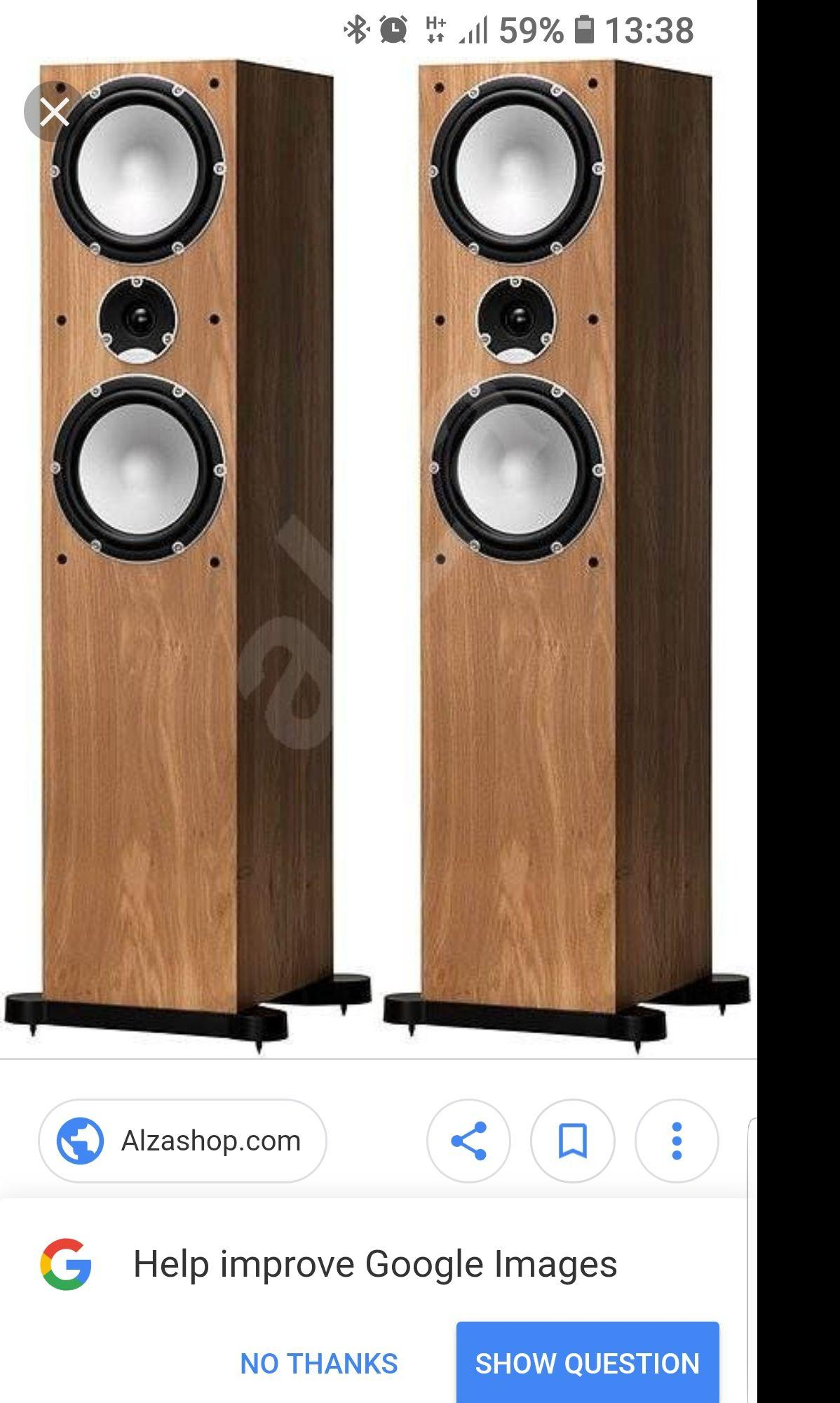 "Tannoy Mercury 7.4 2 Way Floorstanding Hifi Loudspeaker With 2 X 7"" Mid/bass Drivers By Alpha Audio Pte Ltd."