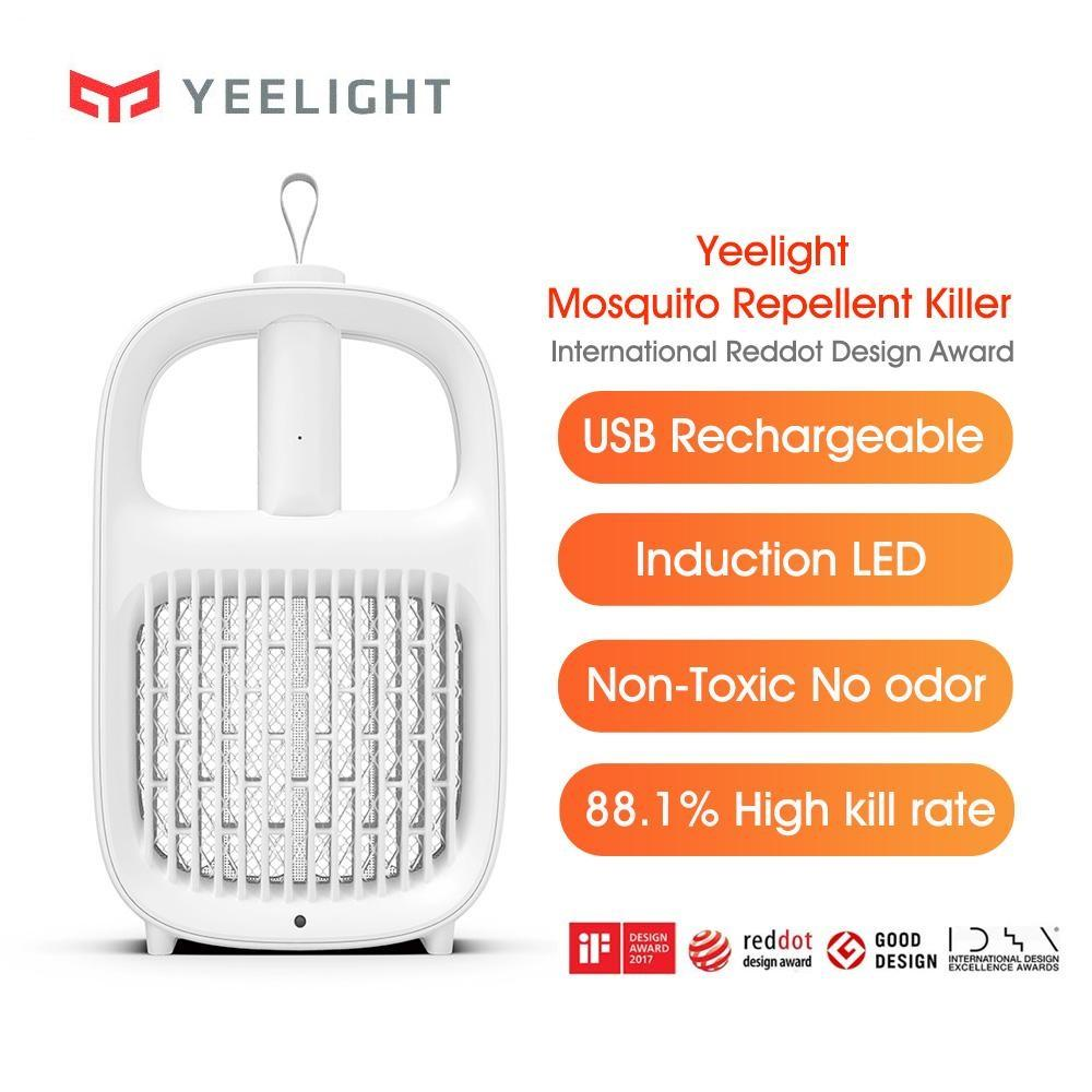 New Xiaomi Yeelight Mosquito Repellent lamp USB Rechargeable Induction LED Anti-mosquito Ultraviolet Light Mijia YLGJ042CN