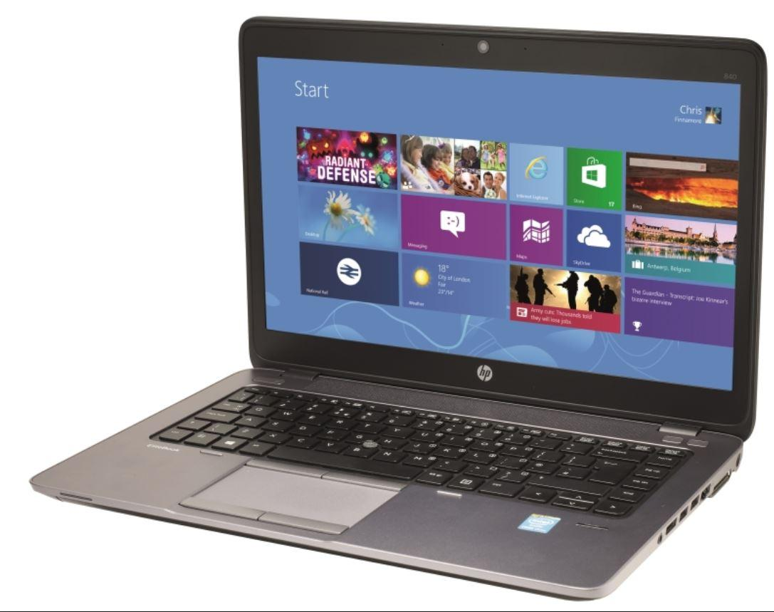 Refurbished Laptop HP Elitebook 840 G1 / Intel Core i5-4th Gen / 4GB RAM / 128GB SSD / Windows 10 / One Month Warranty