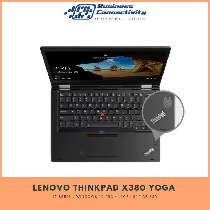 Lenovo Thinkpad X380 Yoga i7-8550U / Windows 10 Pro / 16GB / 512 GB SSD