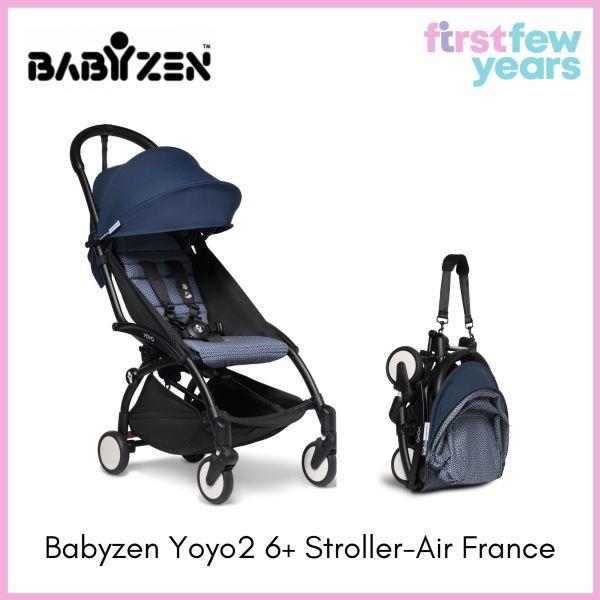 BABYZEN YOYO² 6+ Stroller (Black Frame) - Choose your Color [NEW VERSION] Singapore