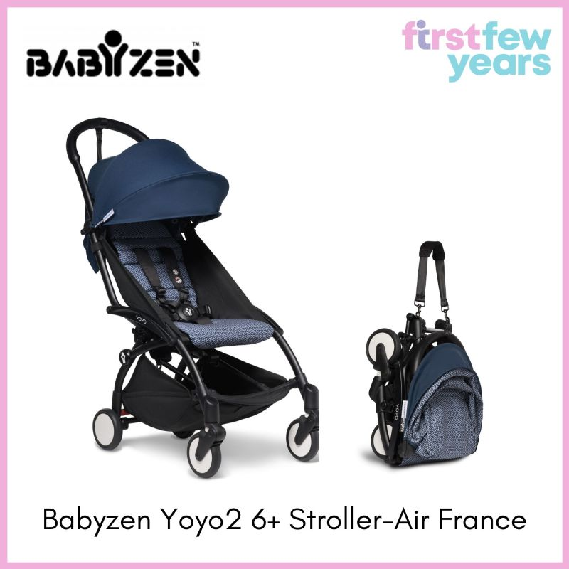 BABYZEN YOYO² 6+ Stroller (Black Frame) - Choose your Color [NEW VERSION] Singapore