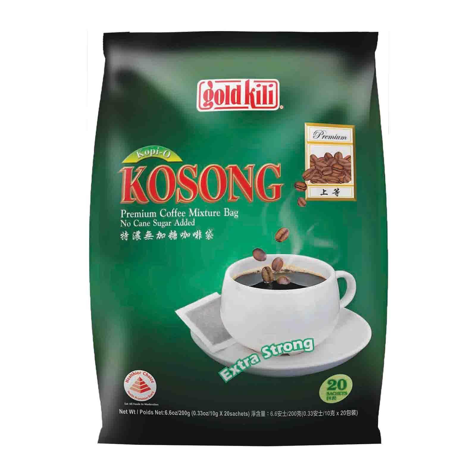 Gold Kili Kopi-O Kosong Premium Coffee Mixture Bag