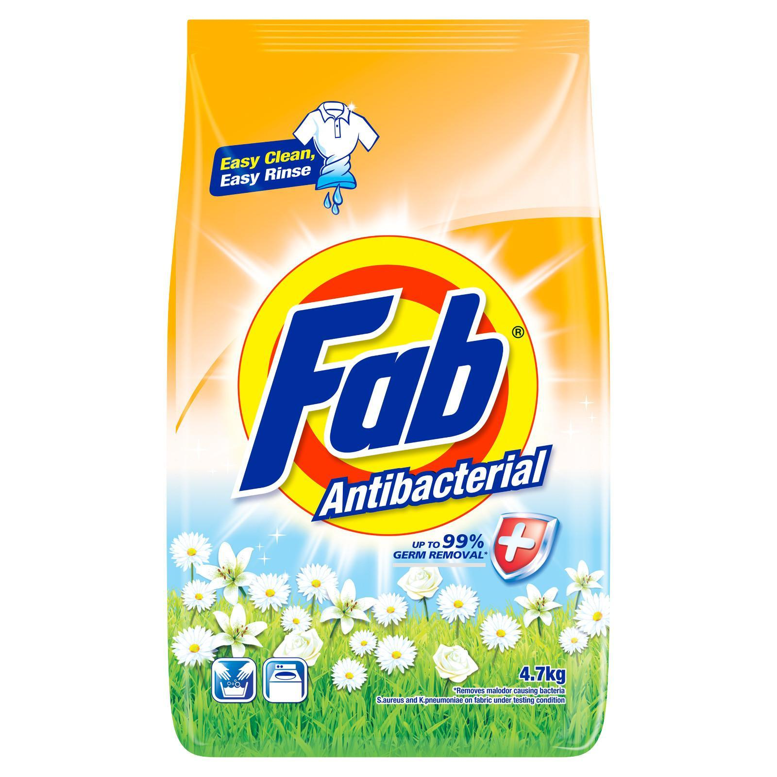 Fab Powder Anti-Bacterial Laundry Detergent