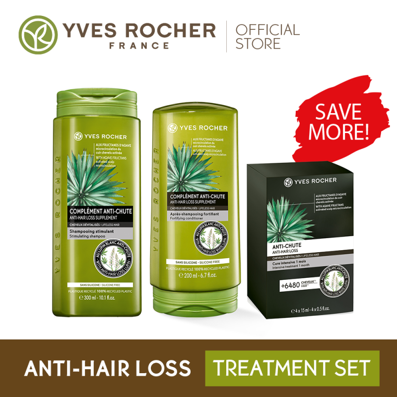 Buy Yves Rocher Anti-Hair Loss Treatment Bundle Singapore