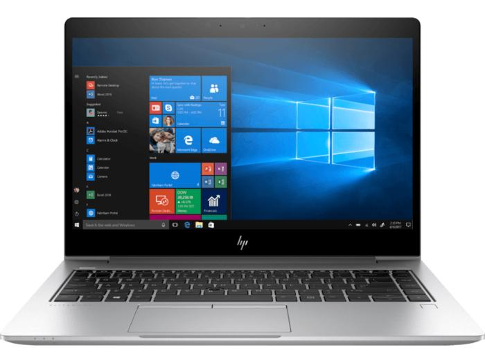 HP EliteBook 840 G6 Notebook PC (7MR54PA) - Intel® Core™ i5-8265U / Windows 10 Pro 64 / 8 GB DDR4 / 512 GB SSD / AMD Radeon™ RX 550