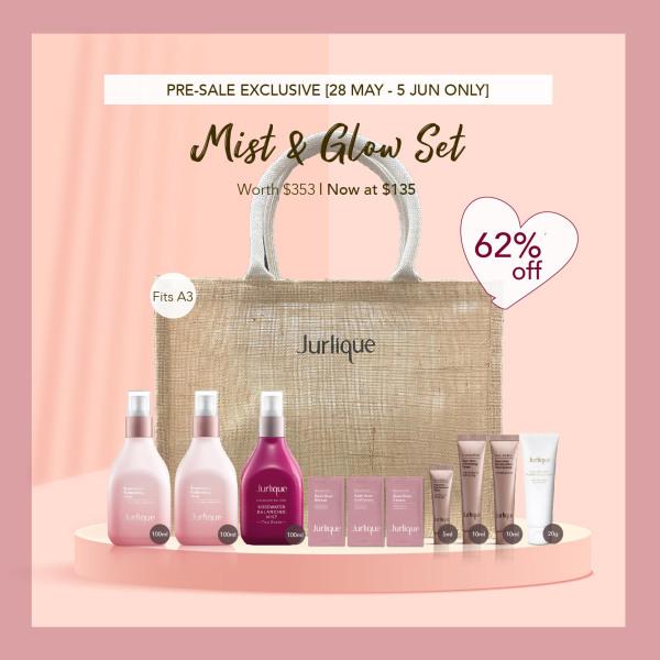 Buy [28 May-5 Jun Pre-Sale Exclusive] Jurlique Mist & Glow Set Singapore