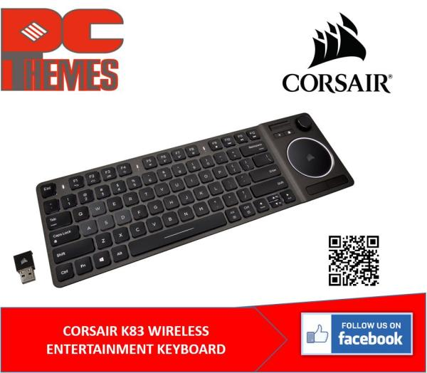 CORSAIR K83 WIRELESS ENTERTAINMENT KEYBOARD (CH-9268046-NA) Singapore