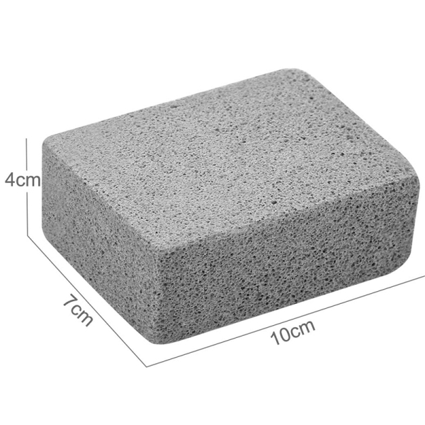 Giá Grill Griddle Cleaning Brick Block Ecological Odorless Cleaning Stone De-Scaling Grill Stone Cleaner Removes Rust Grease(Pack Of 10)