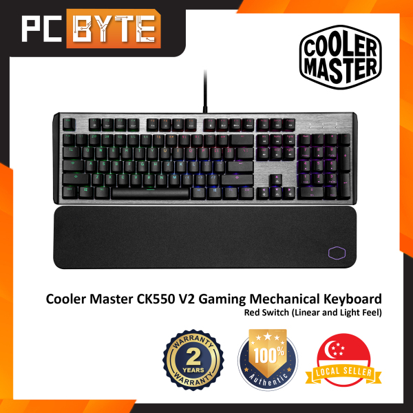 Cooler Master CK550 V2 - Gaming Mechanical Keyboard (RGB Backlight) Singapore